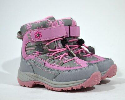 Зимние ботинки B&G-Termo зимові ботінки черевики для девочки дівчинки р.23-28