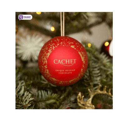 Новогодний Шар со сладостями Cachet 100 g