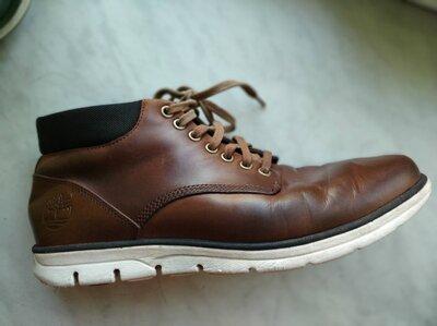 Кожаные деми ботинки Timberland 43 р