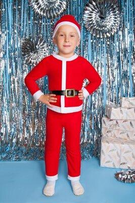Новогодний комплект для мальчика Дед Мороз