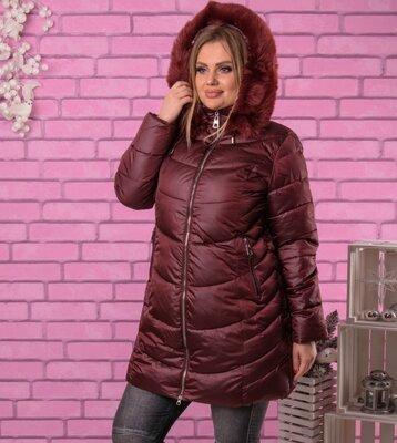 Стильная Дутая Куртка/пальто зима