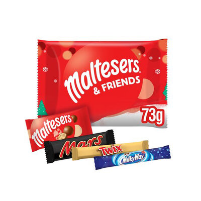 Новогодний набор сладостей Maltesers Friends Selection of Festive Delight 73 g