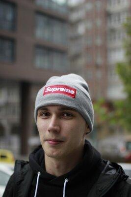 Шапка Supreme Зимние шапки Теплая шапка Шапка модная теплая