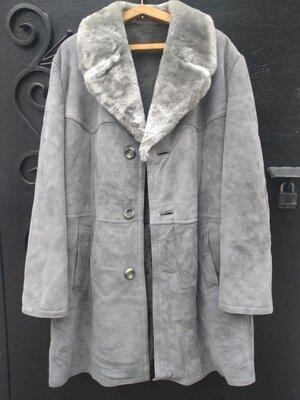 Эксклюзивное пальто-дубленка нартуральная полностью kolossa из германии