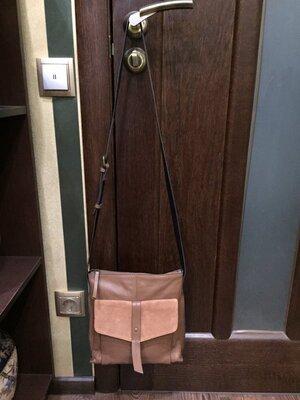 Продано: Шикарная мужская сумка натуральная кожа NEXT Англия оригинал