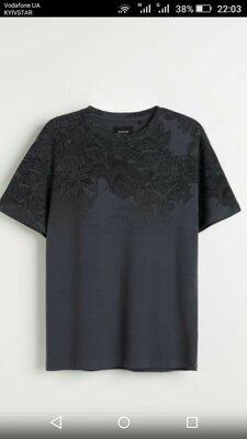 Стильная мужская футболка S -M Reserved