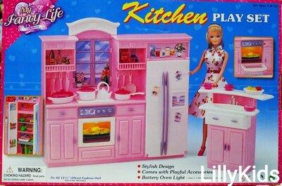 Набор мебели для кукол типу Барби Gloria 24016 , Кухня