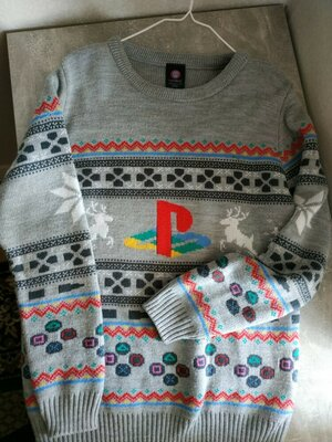 Свитер пуловер Sony PlayStation