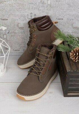 Продано: Мужские коричневые ботинки 62532