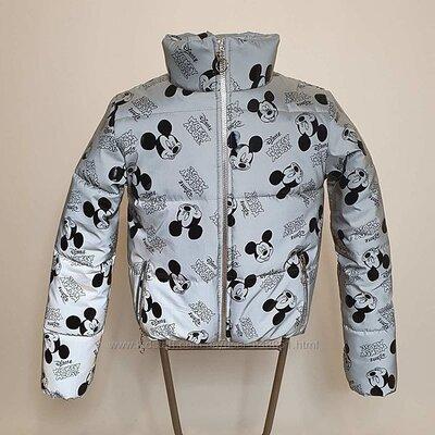 Куртка светоотражающая рефлекторная для девочек и девушек от 140 до 174р-тренд сезона