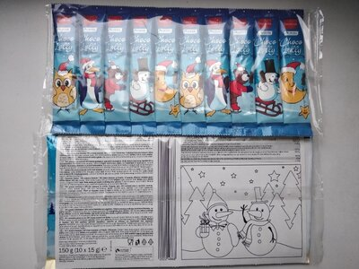 Продано: Шоколадные конфеты на палочке 10 15 г с молочного шоколада
