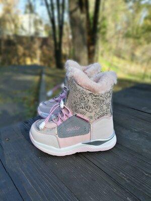 Зимние термо ботинки для девочки