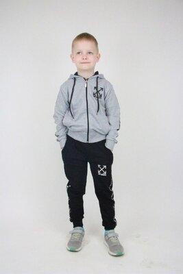 Спортивный костюм для мальчика off white 92-122 рост Турция