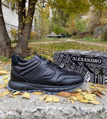 Мужские зимние кроссовки ALEXANDRO натуральная кожа 40-45р