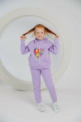Продано: Спортивный костюм для девочки зима Likee лавандовый