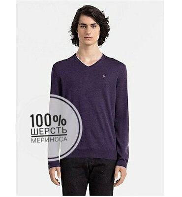 Джемпер свитер из мериносовой шерсти Calvin Klein. Оригинал