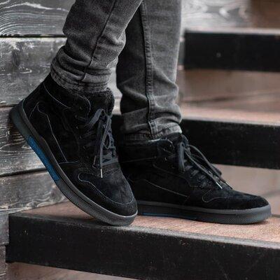 Зимние Мужские Ботинки South Oriole black Мех 44