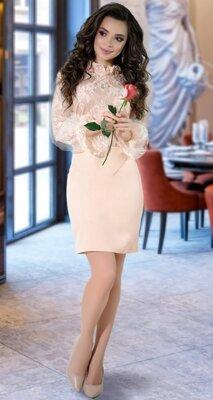 Нарядное Платье С Гипюром Красивое