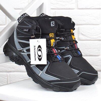 Ботинки мужские зимние кожаные Salomon Speed Cross Pro на меху