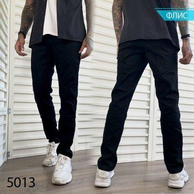 Продано: Мужские джинсы на флисе