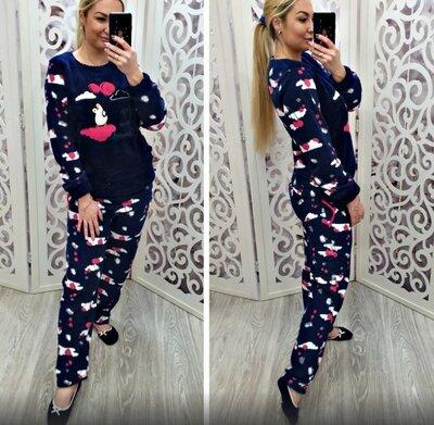 Женская махровая пижама. Много расцветок