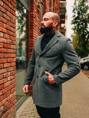 Продано: Мужское пальто демисезонное весна осень