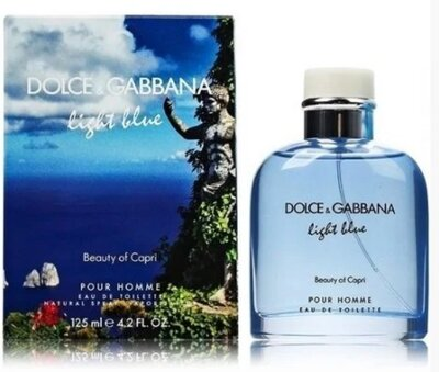 Dolce&Gabbana Light Blue Beuaty of Capri Pour Homme Туалетная вода 125 ml