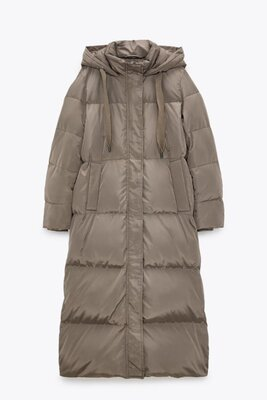 Продано: Пальто Zara на утином пуху