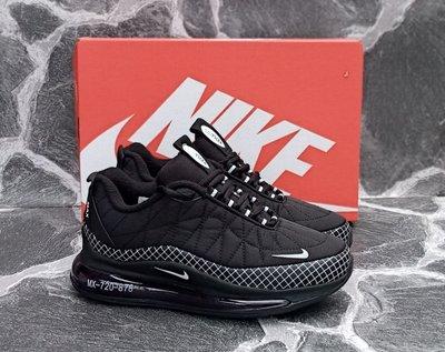 Продано: Женские кроссовки Nike Air Max 720 черные,красные,демисезонные