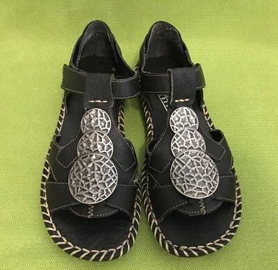 Продано: Босоножки, сандали Rieker, р.37 стелька 24см. Натур.кожа
