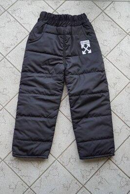 Детские и подростковые тёплые штаны