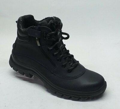 Мужские кожаные ботинки Мида 14057 зимоходы
