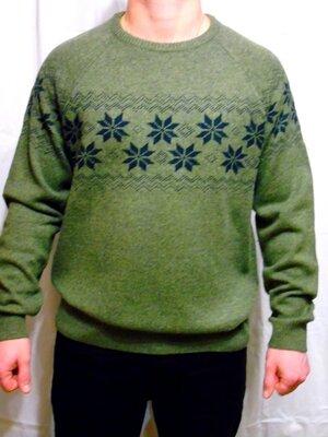Hampton Republic Шикарный свитер с шерстью С узором - XXL - XL