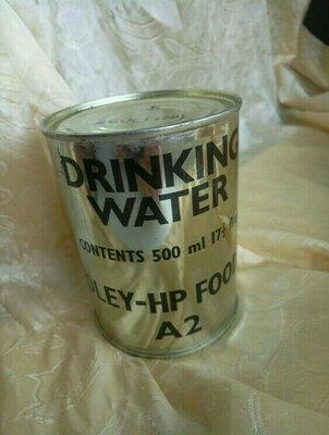 Продано: Консервированная питьевая вода