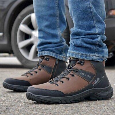 Зимние мужские ботинки 31840 Camel
