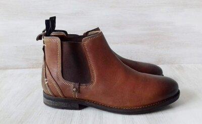 Кожаные ботинки челси 100% натуральная кожа PACE Crafted shoes Sweden