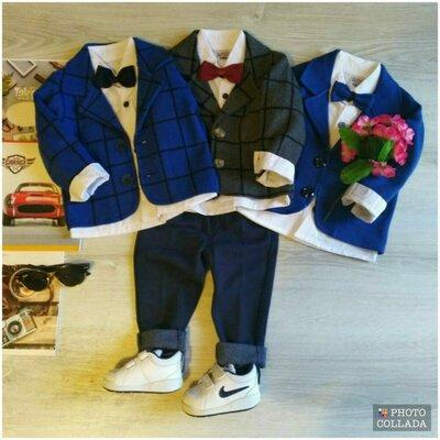 Продано: Нарядный костюм для мальчика с пиджаком