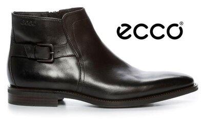 Продано: Кожаные мужские ботинки экко ECCO FARO оригинал р.43 новые