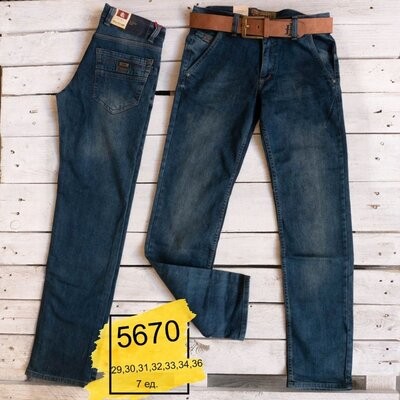 Мужские джинсы темно синие стрейч Blасk Lee 29,30,31,32,34,36 Турция