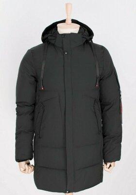 Продано: Чоловіча зимова тепла довга куртка мужская тёплая длинная зимняя куртка