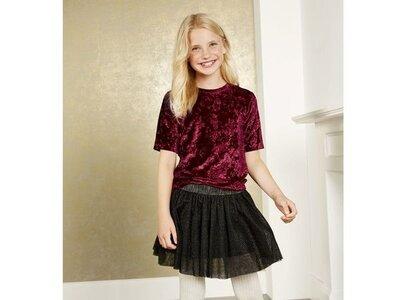 Бархатная футболка для девочки 146-152 Pepperts Германия