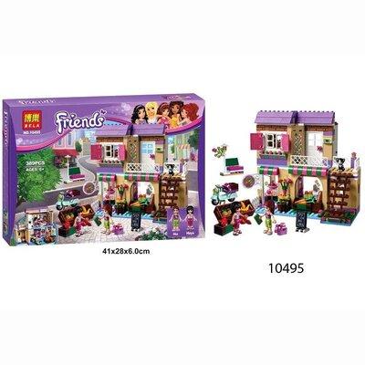 Бела Френдс 10495 Овочевий ринок конструктор для дівчинки Bela Friends
