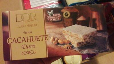 Продано: Турон з арахісом