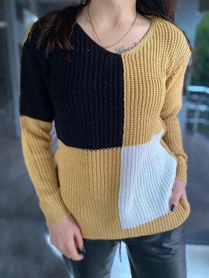 Свитер женский. Пуловер. Свитер мысик. Цвета разные.