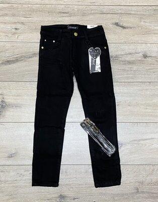 Утепленные катоновые брюки на флисе для девочек-подростков р.146-164, в наличии