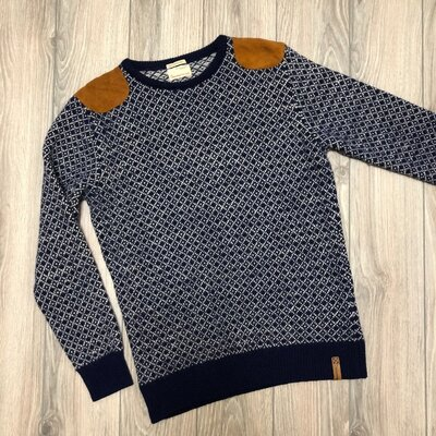 Тёплый свитер knowledge cotton apparel размер xl