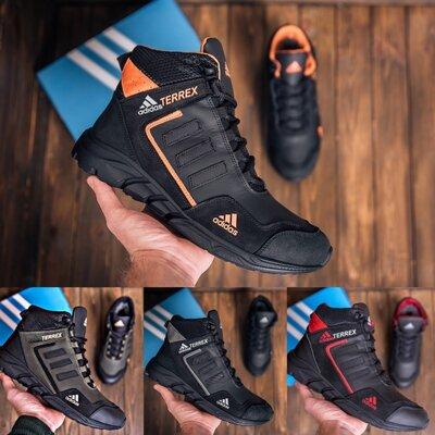 Продано: Мужские зимние кожаные ботинки Adidas TERREX