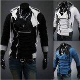Толстовка, реглан, куртка M-4XL 6 цветов код 9