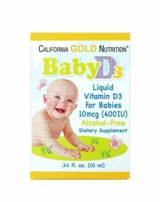 Продано: Вітамін D3 California Gold Nutrition