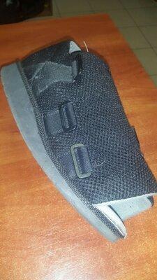 послеоперационная обувь под гипс размер S
